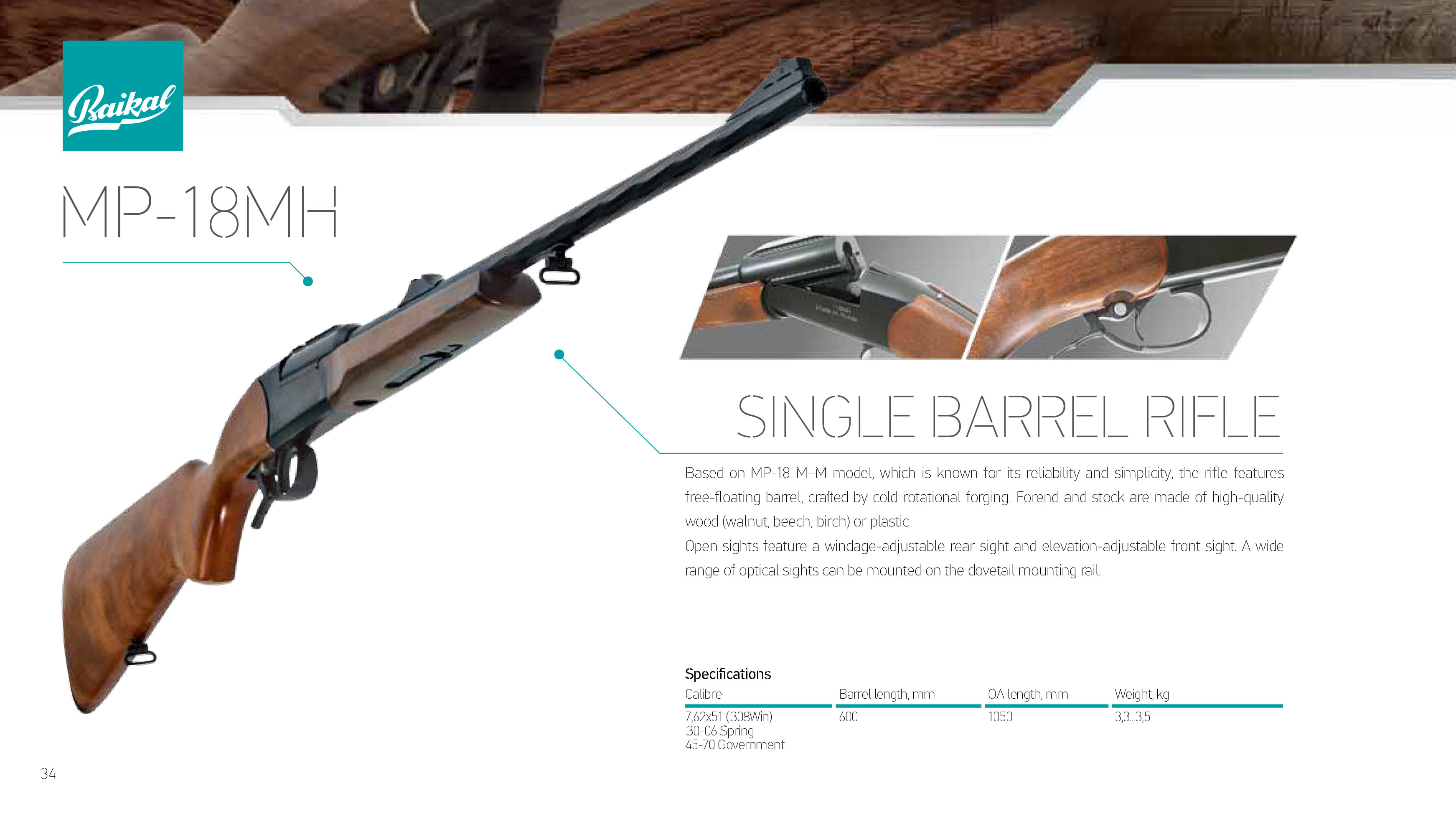 Self-loading hunting rifle MP-155: characteristics, reviews 24