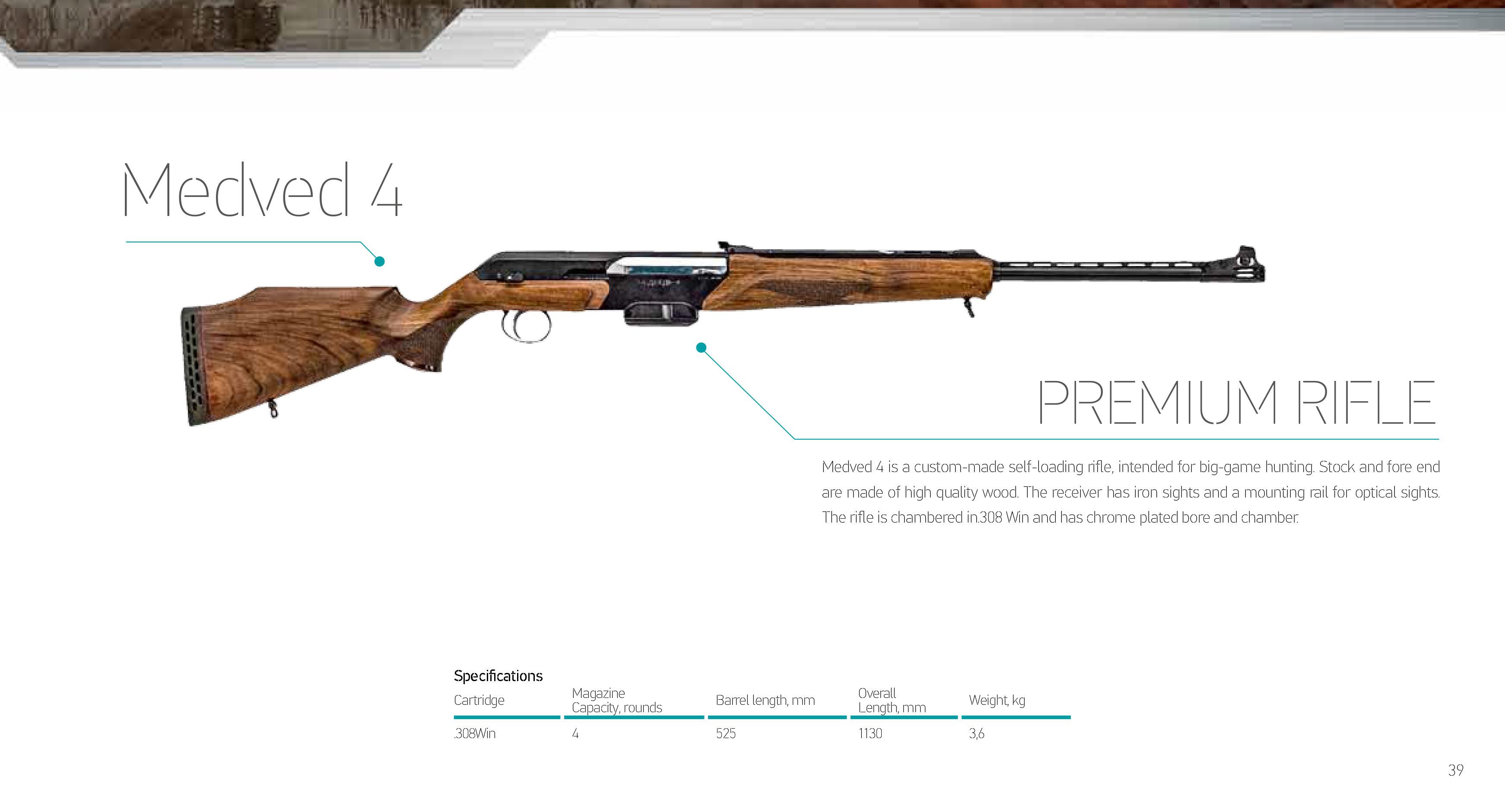 Self-loading hunting rifle MP-155: characteristics, reviews 13