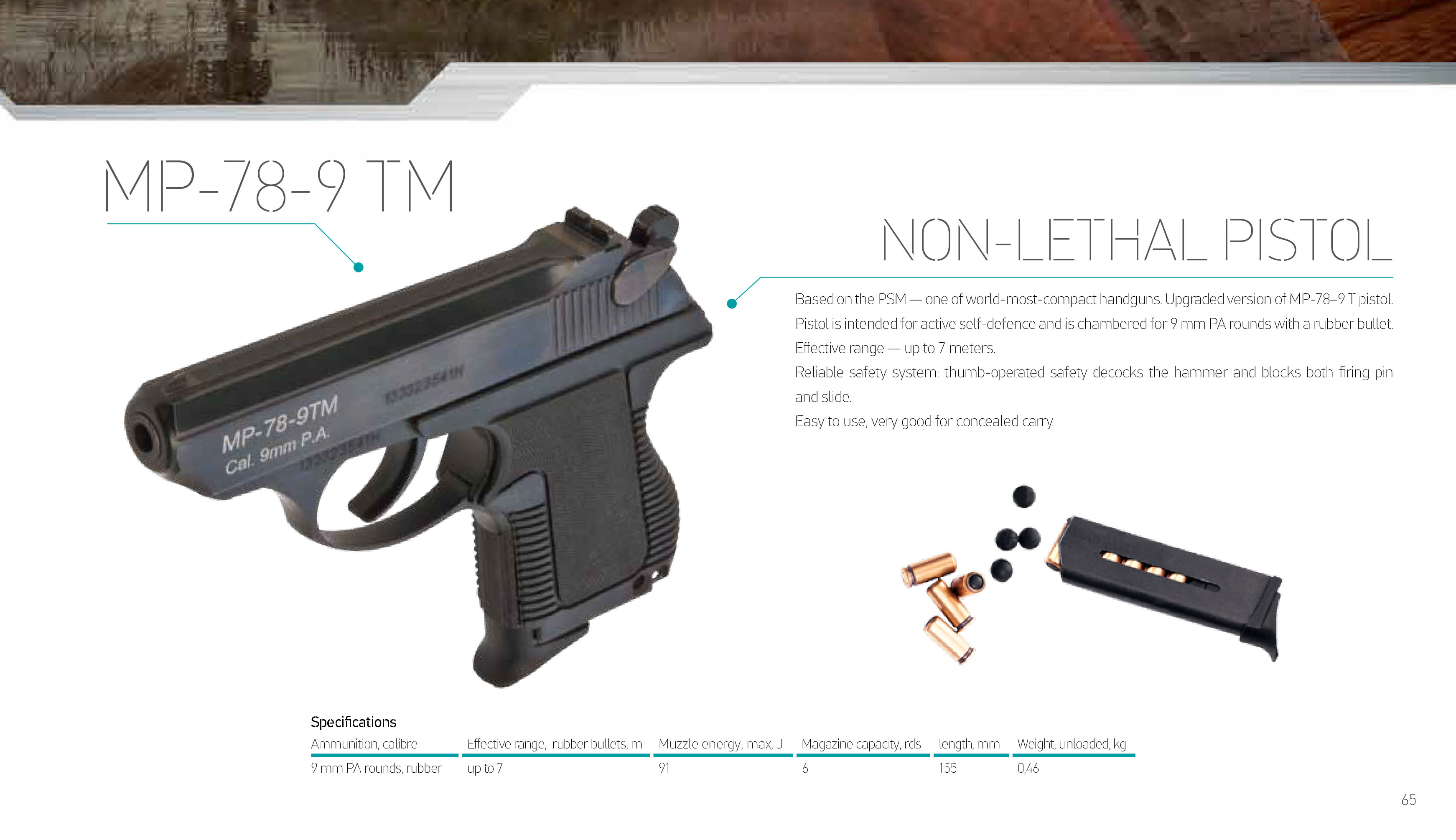 Pistol PSM: specifications, photos 66